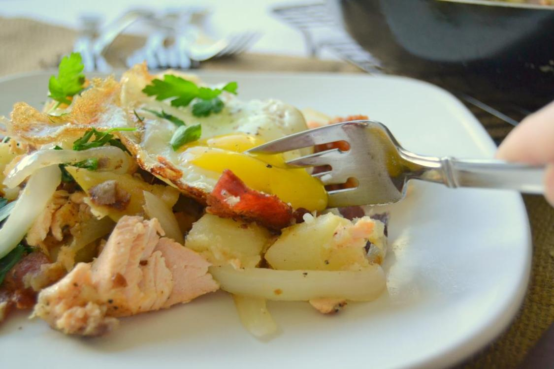 Tattooed Martha - Salmon, Bacon, & Potato Hash (9)