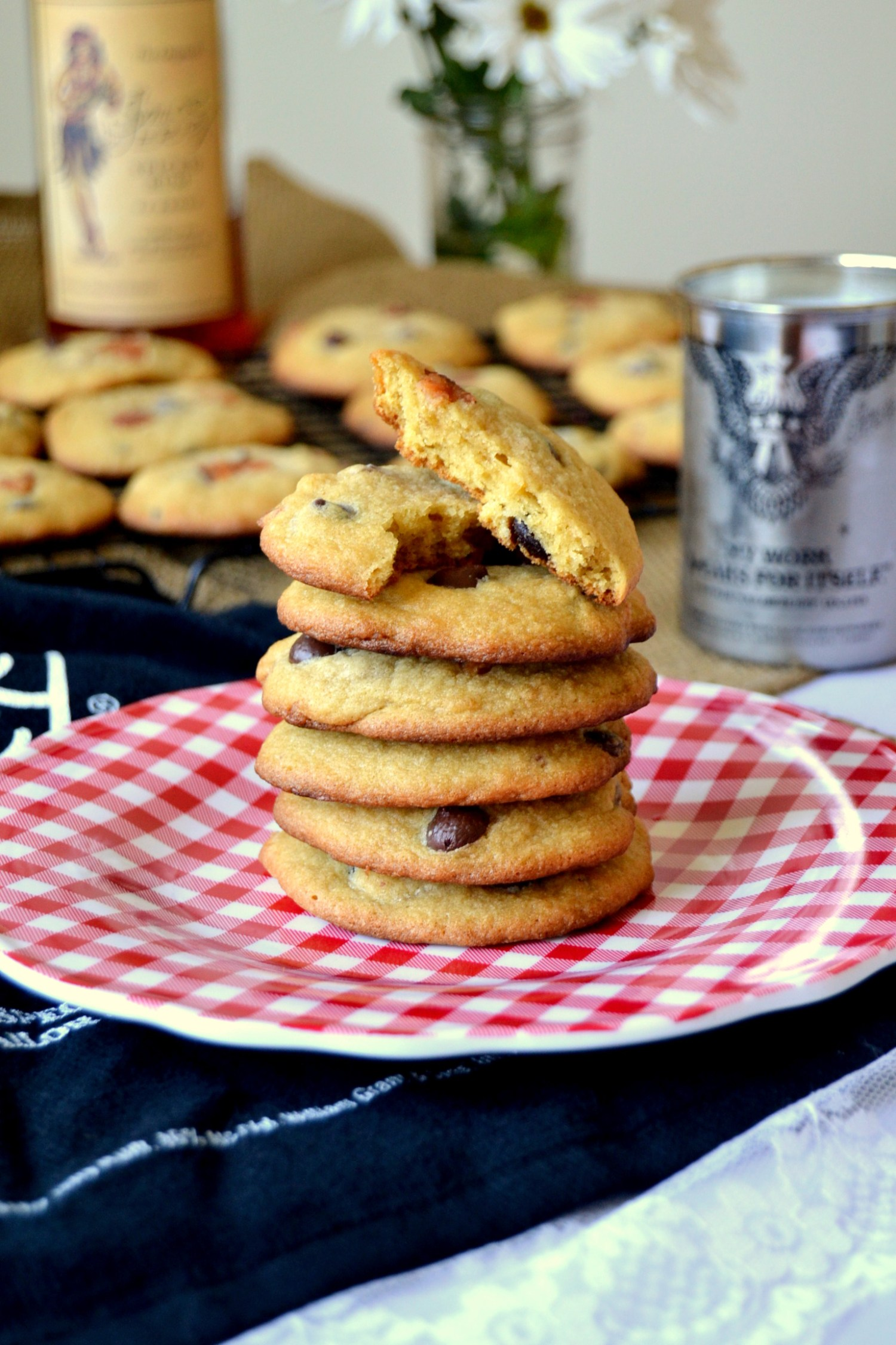 Sailor Spiked Bacon and Chocolate Chip Cookies