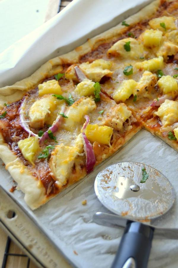 Tattooed Martha - BBQ Chicken Pizza with Pineapple Guacamole (12)
