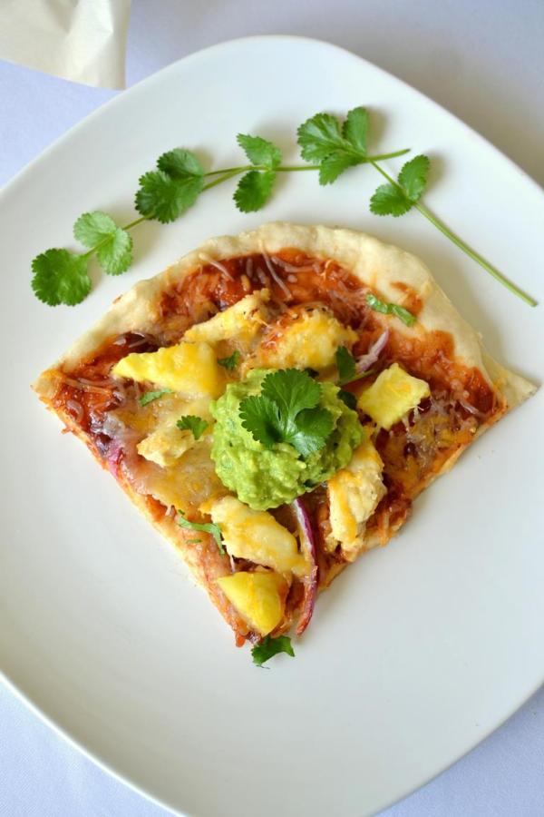 Tattooed Martha - BBQ Chicken Pizza with Pineapple Guacamole (14)