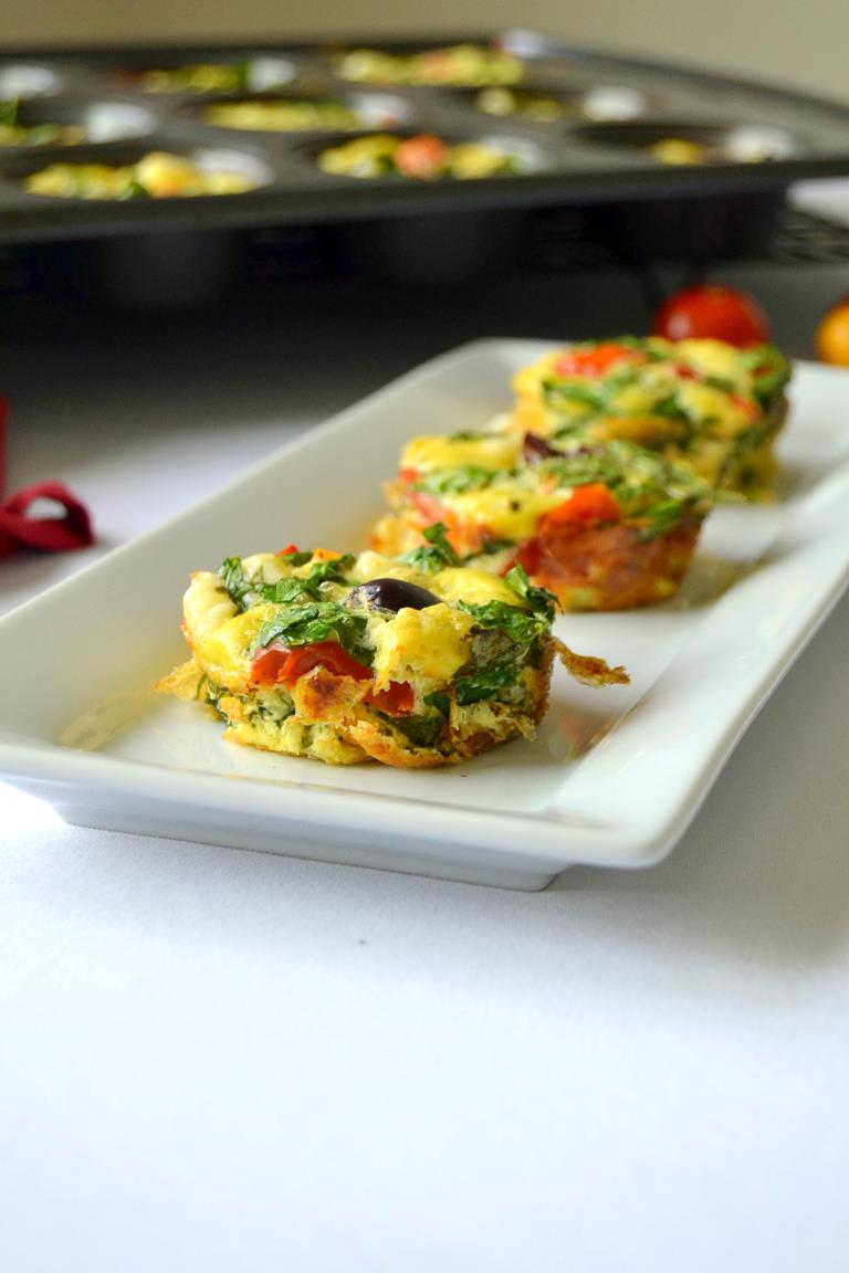 Mini Greek Frittatas