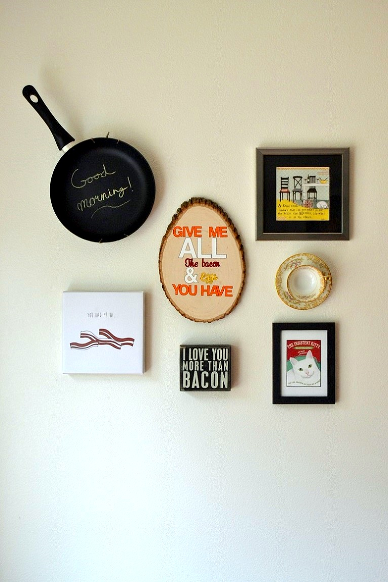 Breakfast Gallery Wall