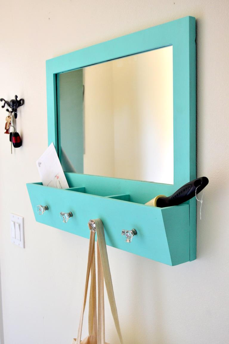 Tattooed Martha - Entryway Mirror Makeover (10)