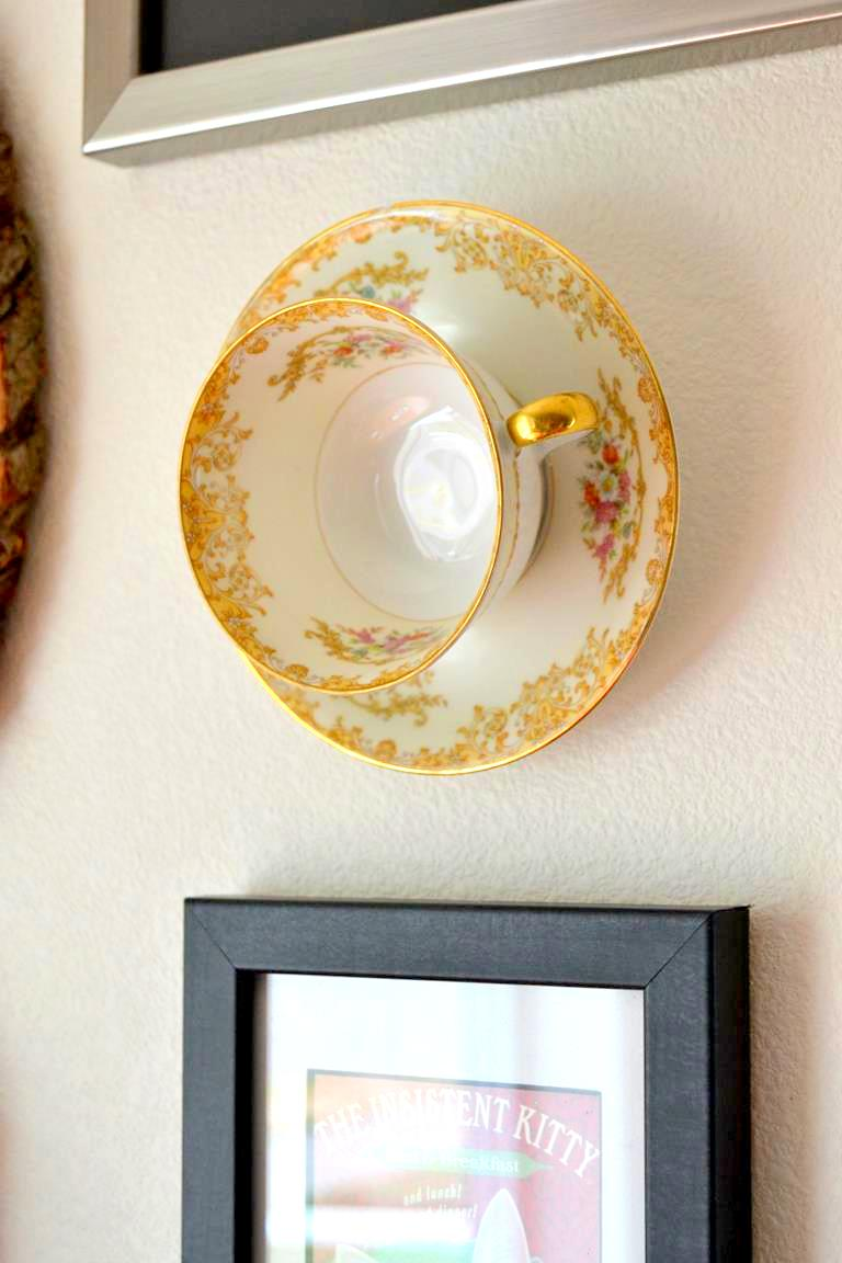 Hanging Teacup Wall Art