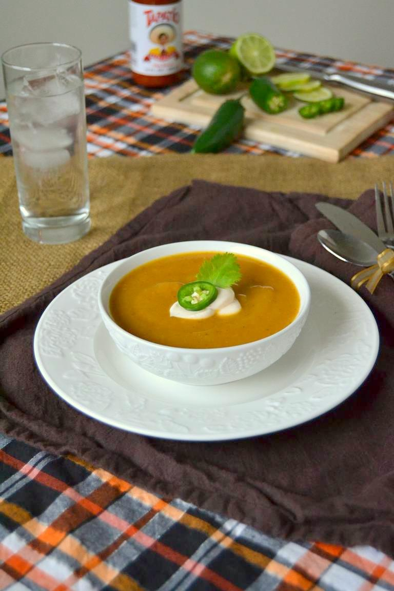 Tattooed Martha - Spicy Butternut Squash Soup (4)