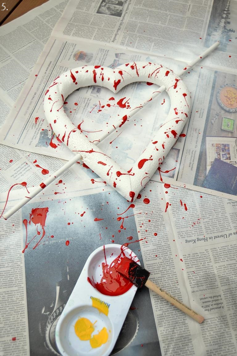 Tattooed Martha - Bloody Valentine Heart Wreath (3)