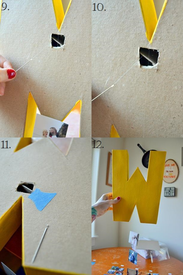 Tattooed Martha - Cardboard Letter Hanging Photo Gallery (12)