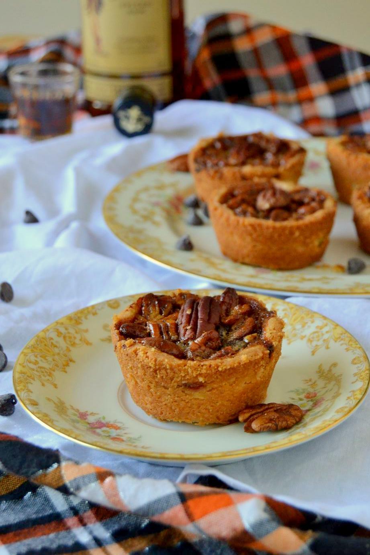 Mini Rum Spiked Pecan Pies