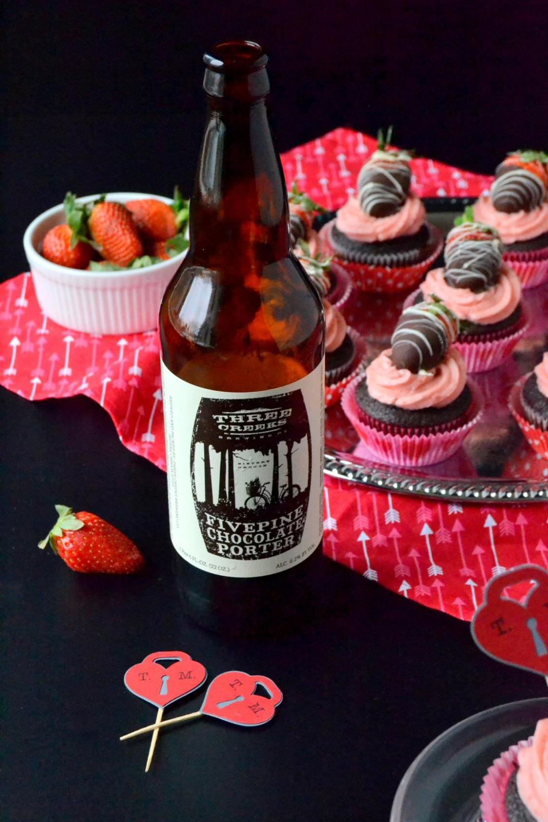Tattooed Martha - Chocolate Covered Strawberry Cupcakes (16)