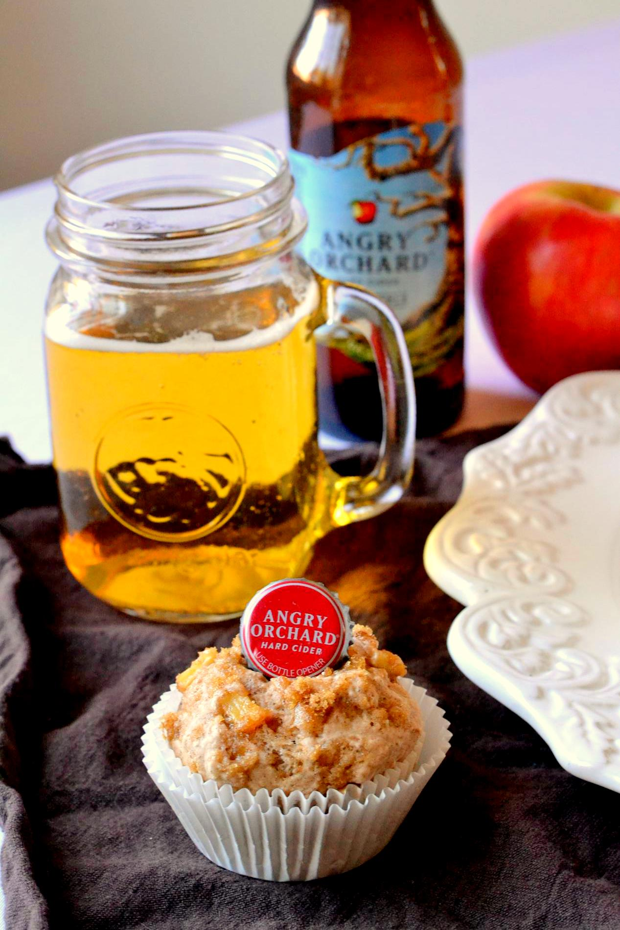 Hard Apple Cider Muffins