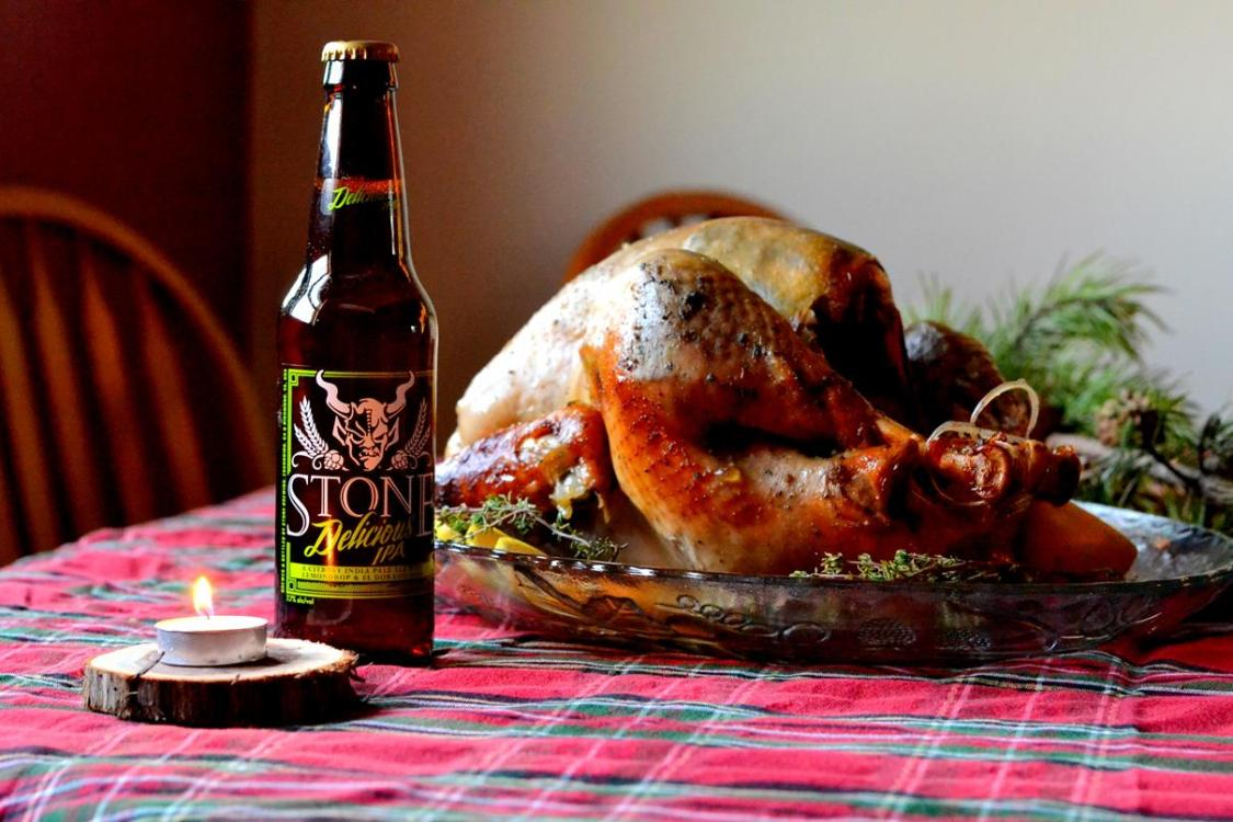 Tattooed Martha - Lemon and Herb IPA Glazed Turkey