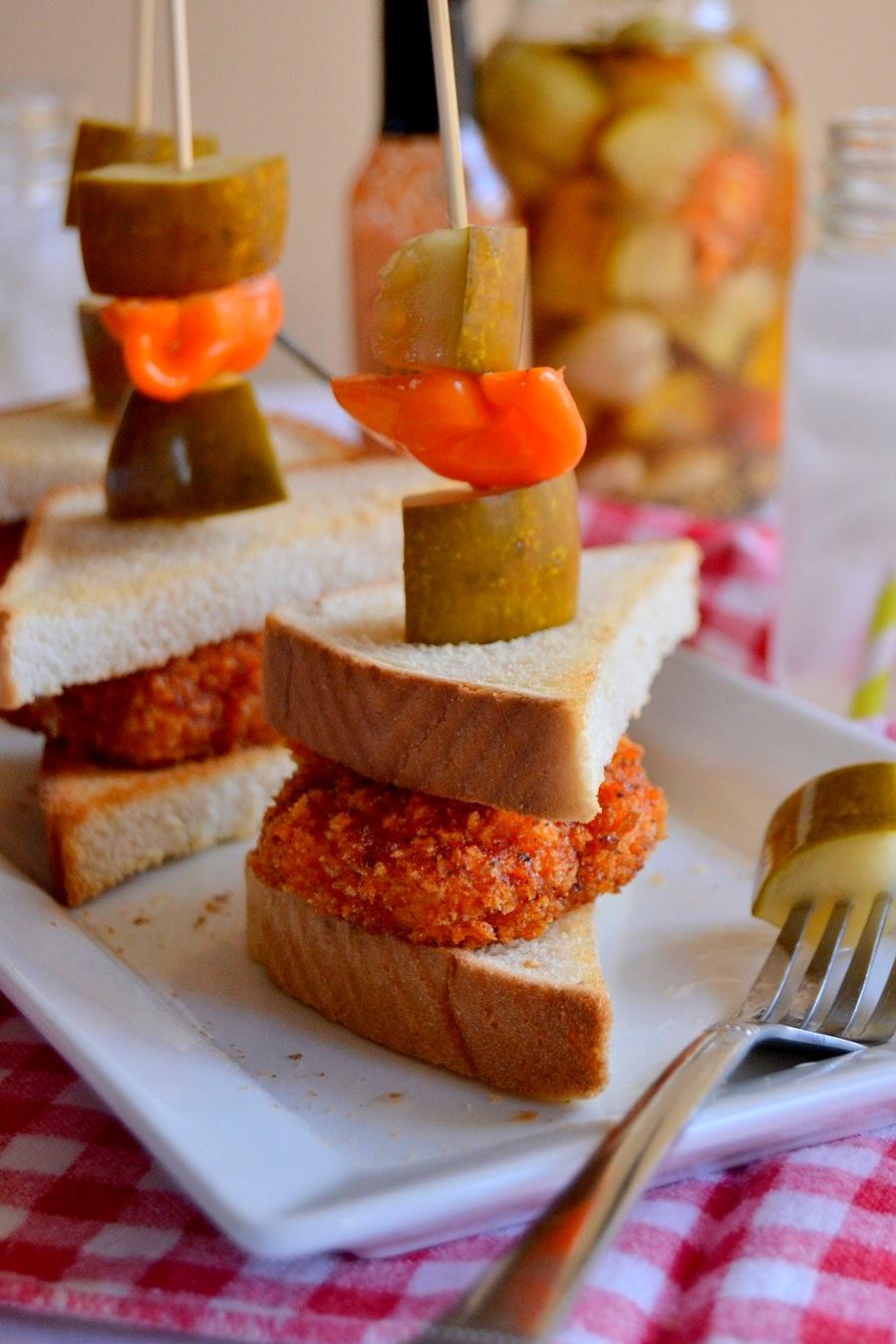 Midwest Hot Chicken Sliders