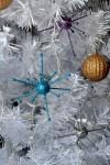 DIY Retro Atomic Starburst Ornaments
