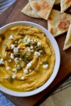 Garlic Rosemary Pumpkin Hummus