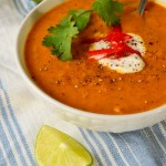 Tattooed Martha - Spicy Cilantro Lime Sweet Potato Soup