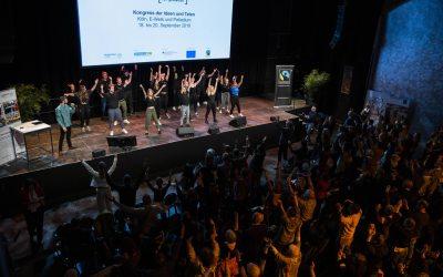 Gröbenzeller Fairtrade Song beim Fairtrade-Kongress in Köln