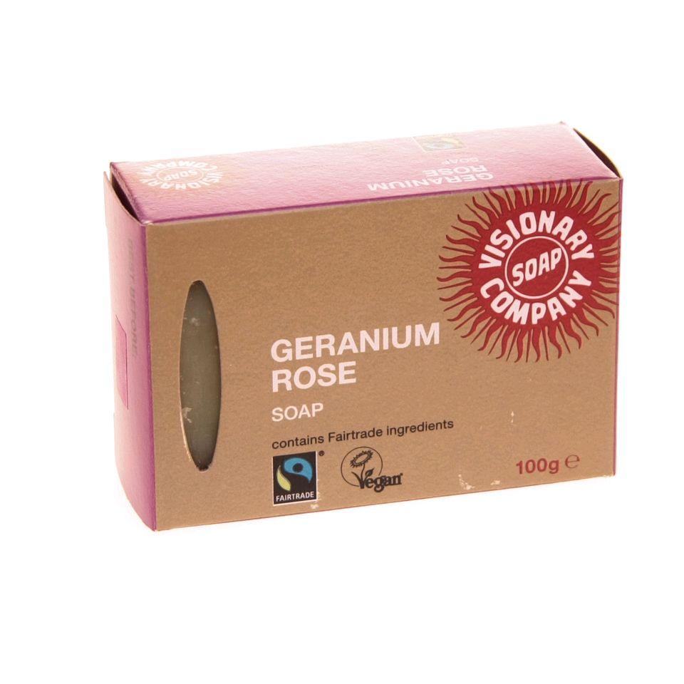 Fair Trade Geranium Rose Soap 299 Fair Trade Product