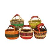 Fairtrade Gepa Ghana Korb bunt