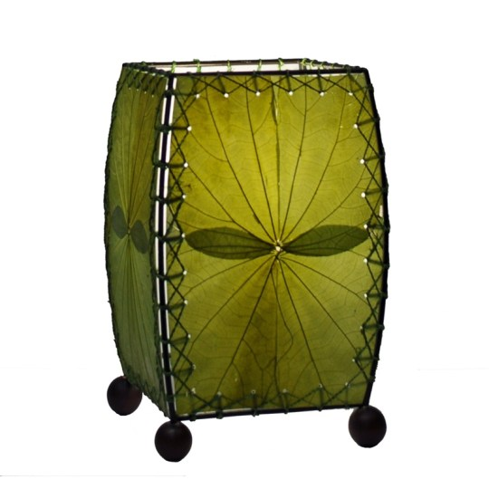 eangee leaf lamp green