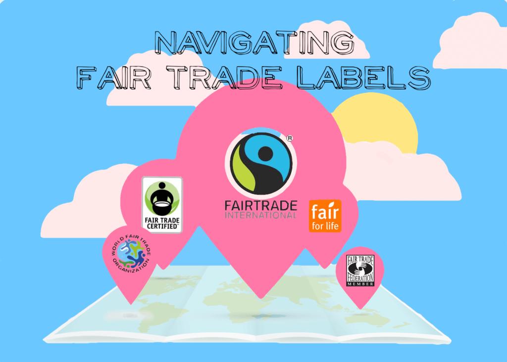 fair trade labels, fair trade logos