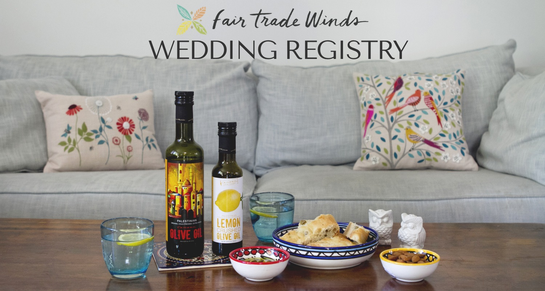 fair trade winds wedding registry