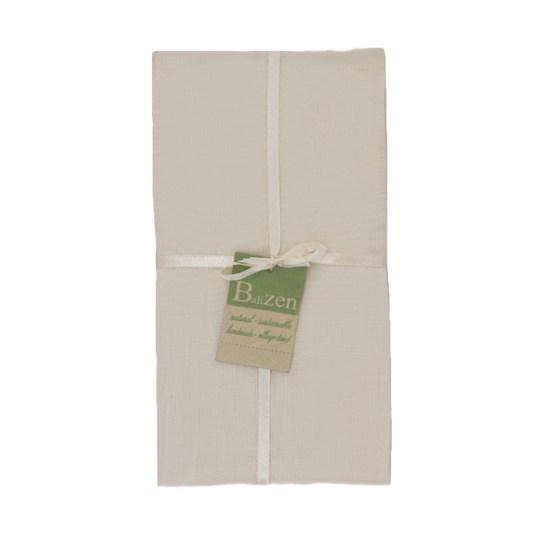 cream cotton endek napkins