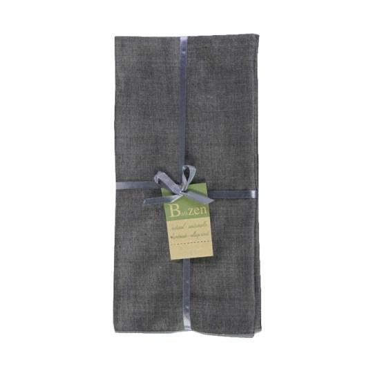 grey cotton endek napkins