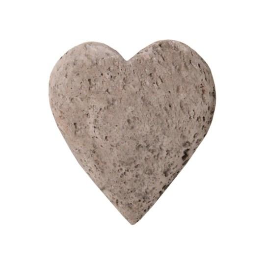 heart pumice stone