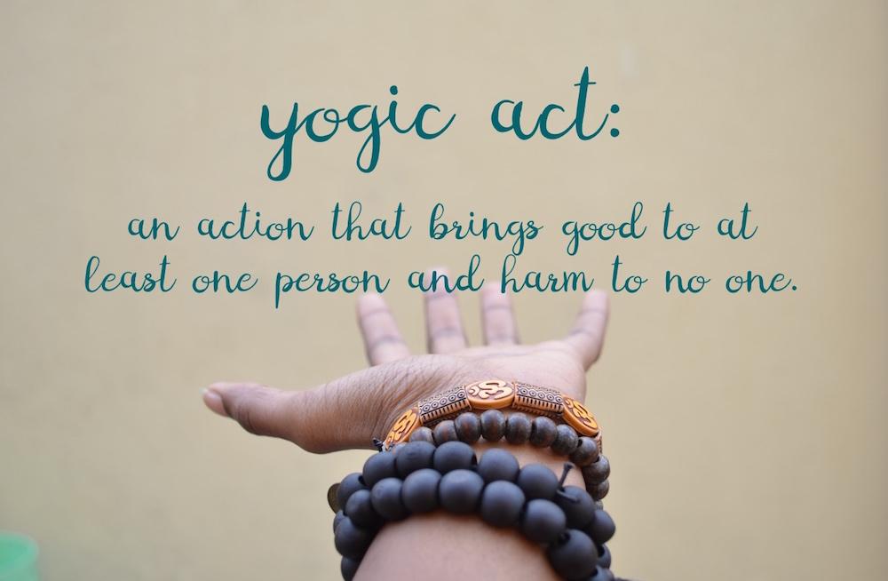 Fair Trade as a Yogic Act