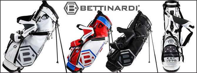 NEW!! Bettinardi Stand bags