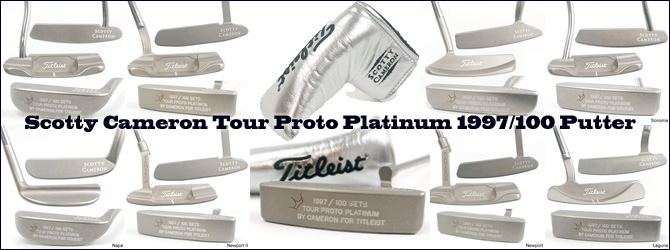 Scotty Cameron Tour Proto Platinum 1997/100 Putter