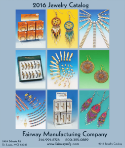 Fairway Manufacturing Company 2016 Jewelry Catalog