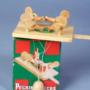 Wood Pecking Hens  3-3688