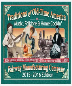 Fairway Manufacturing Company Home Cookin', Music & Folklore Catalog