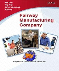 Fairway Manufacturing Company Key & Bag Tags Catalog