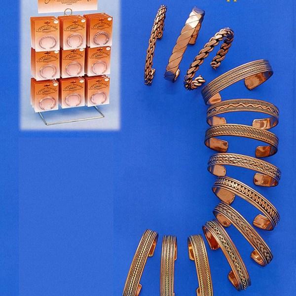 Copper Cuff Bracelets - Asst.