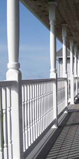 Vinyl Railing Fairway Architectural Railing Solutions