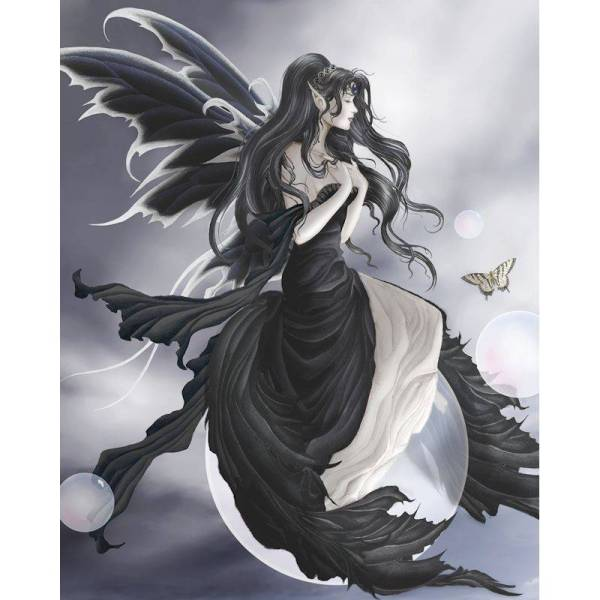 Gathering Storm Fairy Fantasy Art Nene Thomas - 24.00