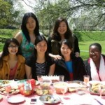 There's no actual dessert associated with this one, but my med school friends threw me a birthday picnic!