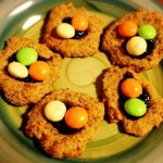 Raspberry Almond Bird's Nest Cookies