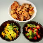 White Balsamic Chicken with Fruit Salsa