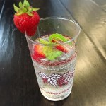 strawberry orange spritzer