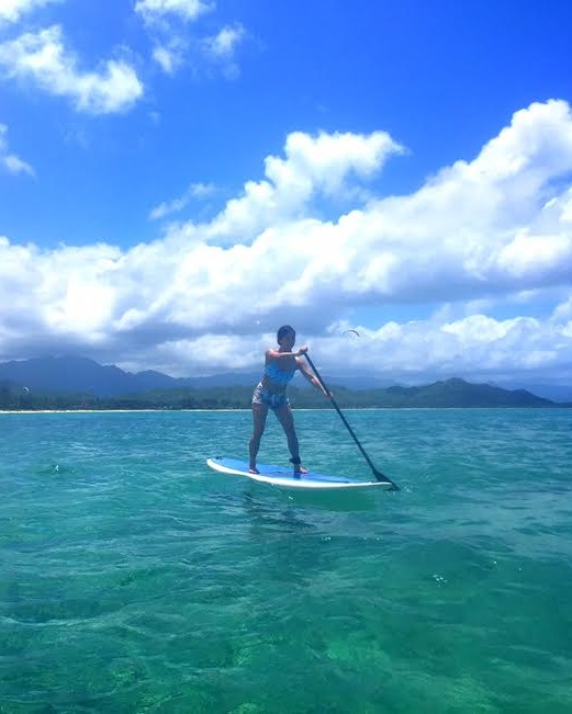 SUP at Kailua Beach