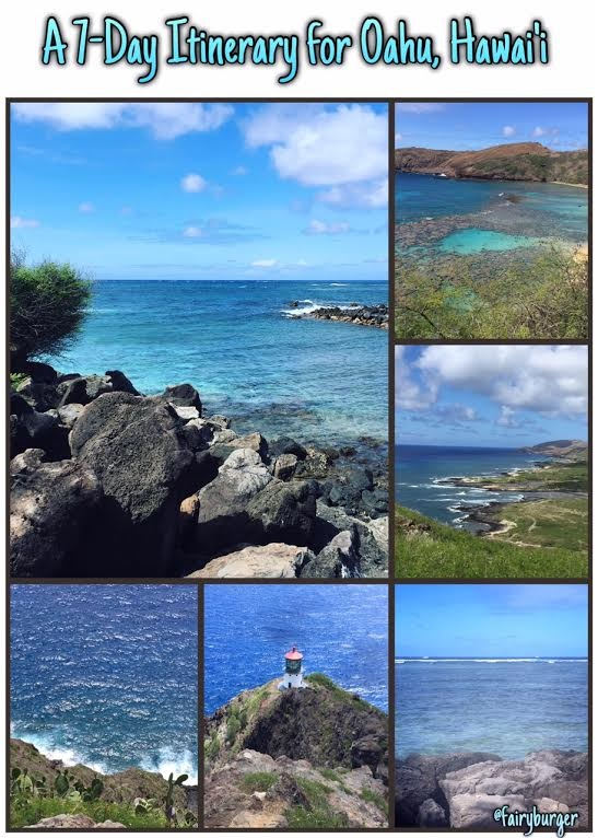 7 Day Itinerary for Oahu, Hawaii