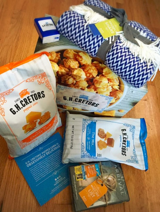 A Movie Night At Home with G.H. Cretors Popcorn
