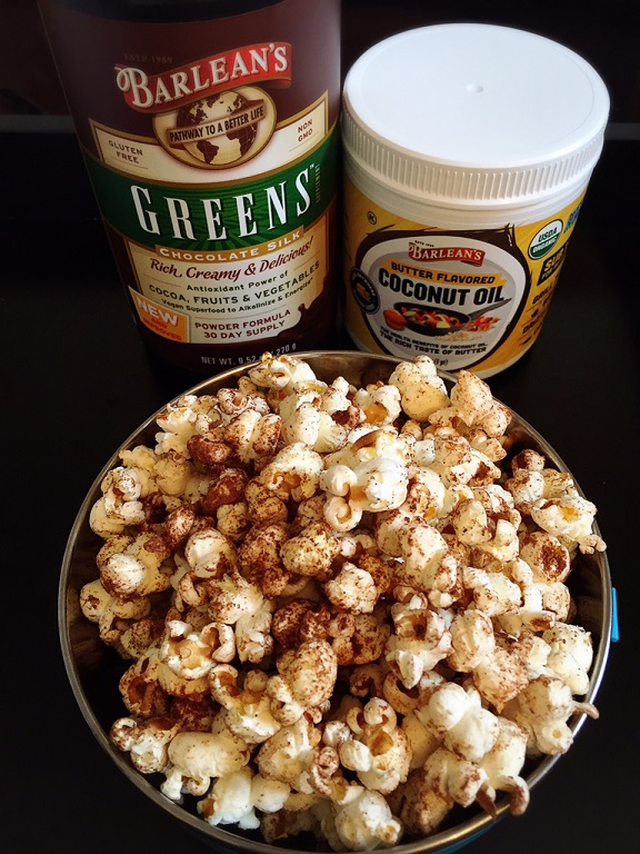 Chocolate Cinnamon Popcorn