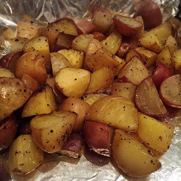 Simple Roasted Potatoes   @fairyburger