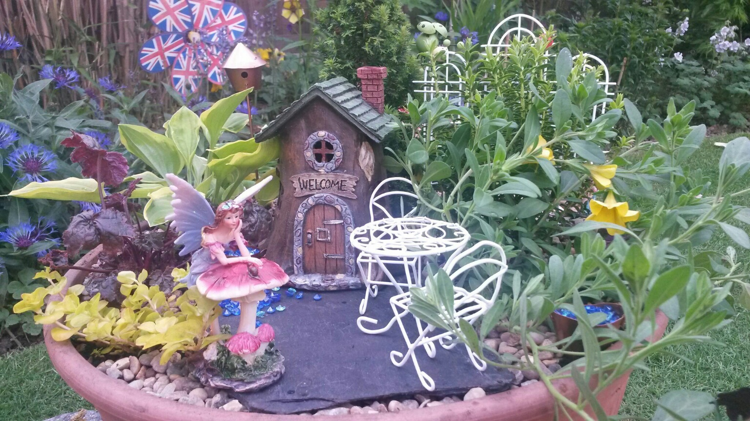 beach chairs clearance bent wood chair fairy gardens, houses, accessories, miniature gardens