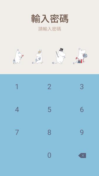 preview 005 720x1232 6 - 【LINE 官方主題下載】Moomin 清新自然篇