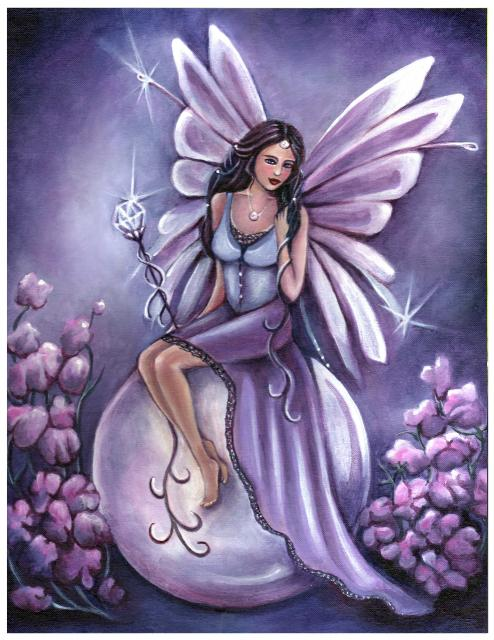 Fairy Magyk Ecards Jennifer Galasso Birthstone Fairy